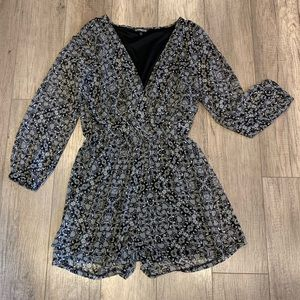Express Romper with Long Sleeves